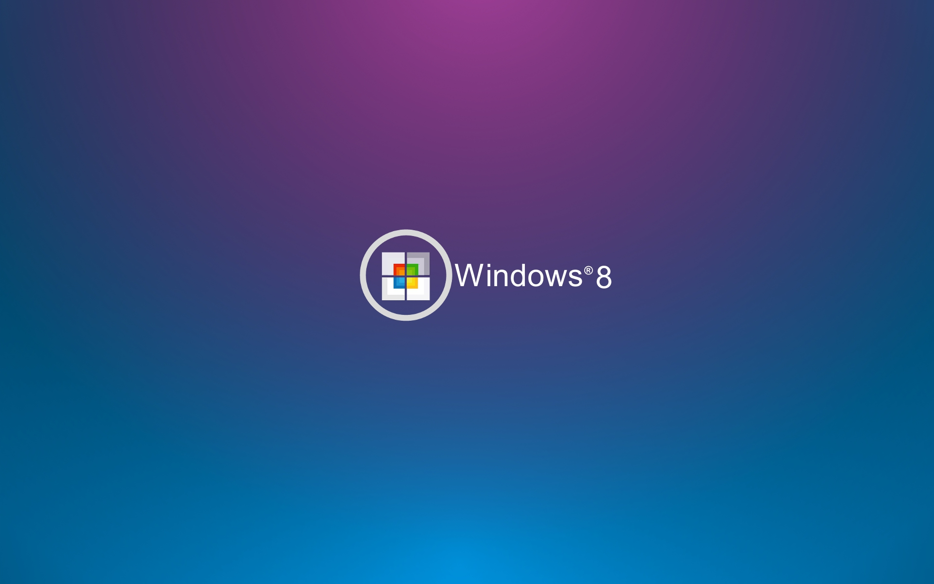 Windows 8 Wallpaper Blue and Purple