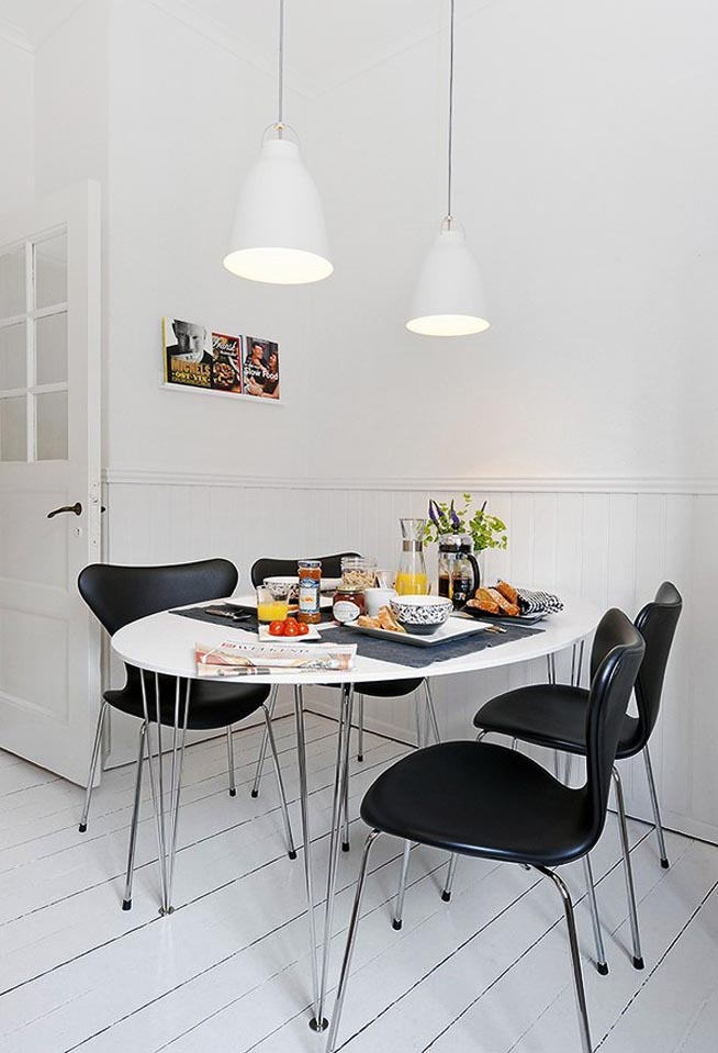 Small Dining Table Design For Apartment Spaces