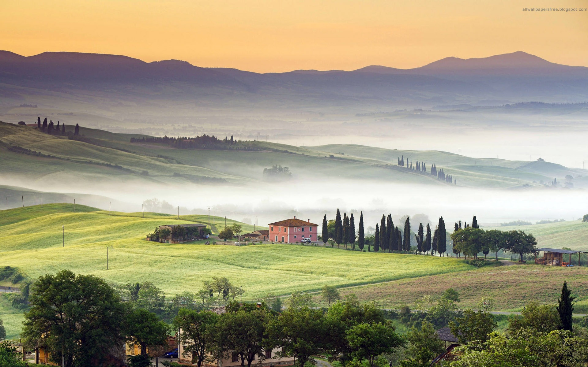 Tuscany Italy HD Wallpaper