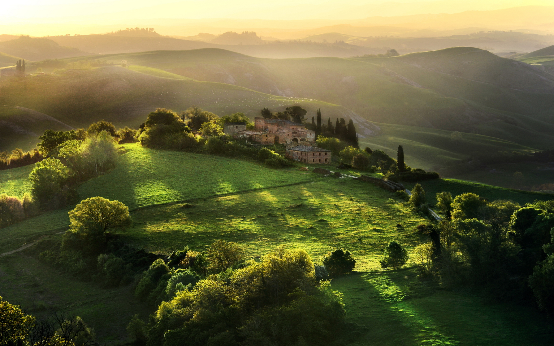 Tuscany Italy Sunrise Photography