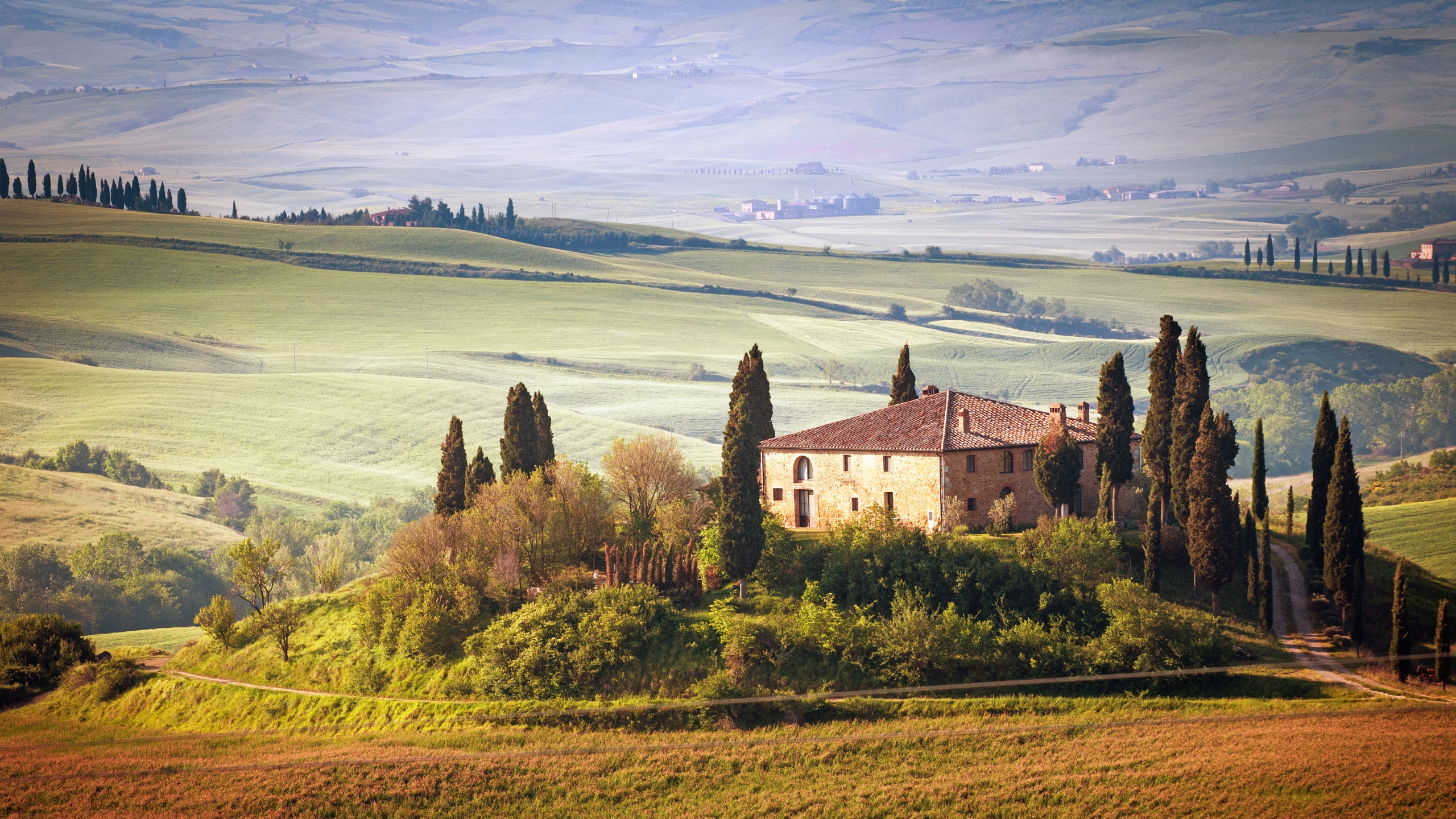 Tuscany Nature Wallpaper