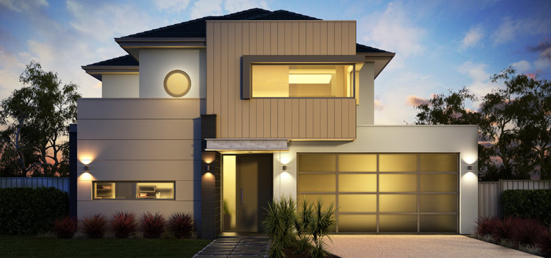 Australian Modern House Facade Design Ideas