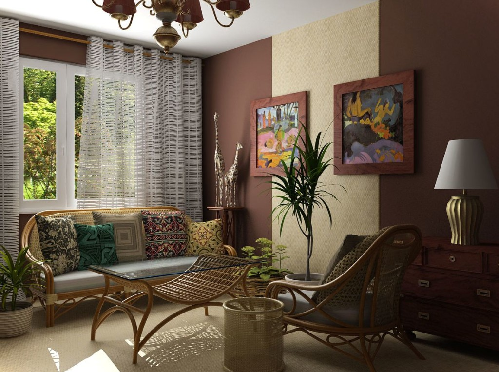 25 ethnic home decor ideas for Home dekoration