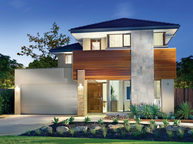 modern house facade style - New Home Design Ideas