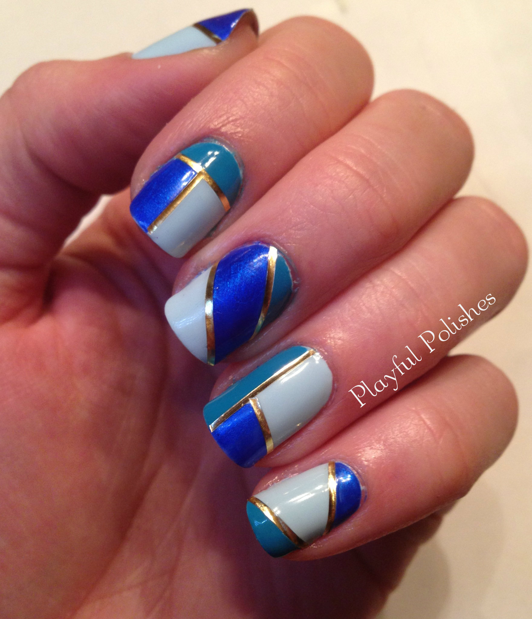 Nail Designs: 30 + Striped Nail Designs And Ideas