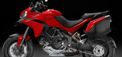 2015 Ducati Multistrada 1200S Red and Black Left Side Photo