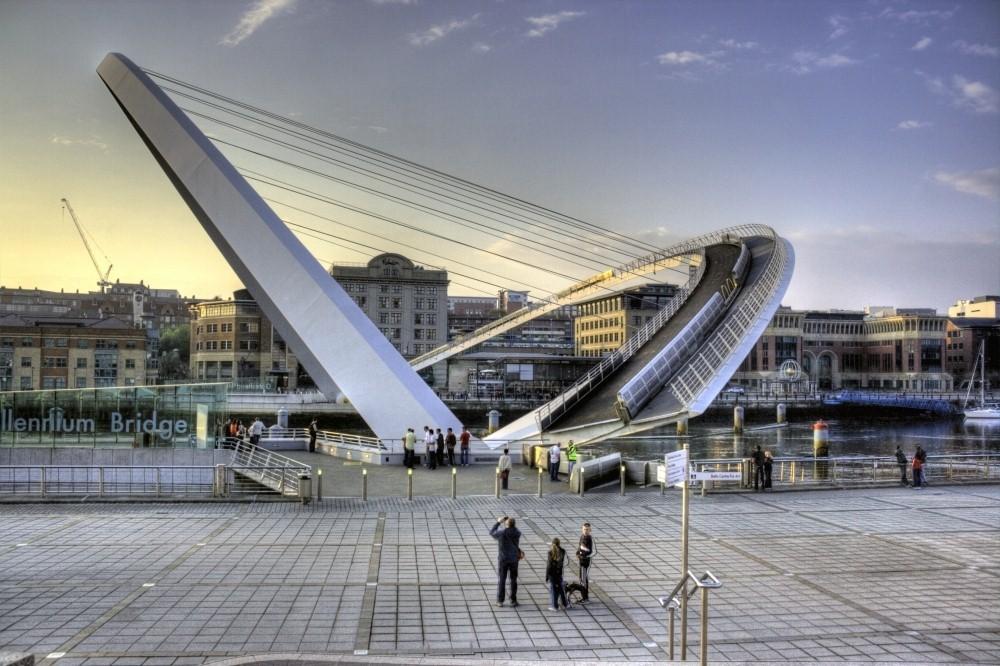 England Gateshead Millennium Bridge Pictures