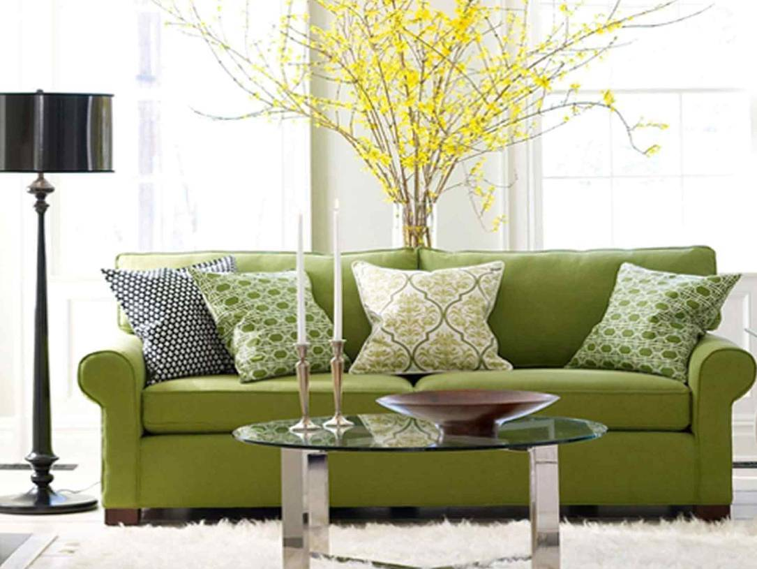 Cushions For Green Sofa