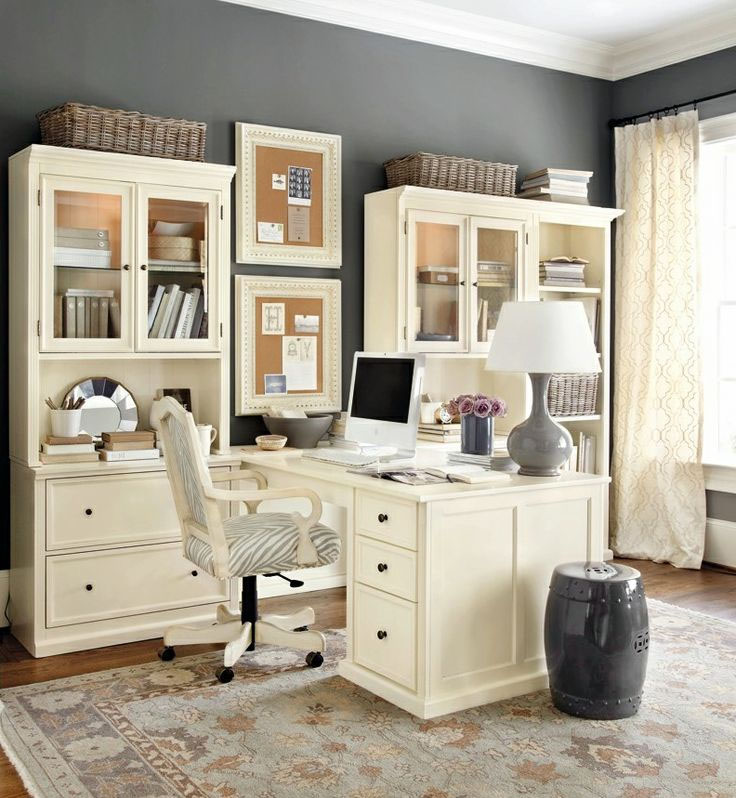 Beautiful Home Office Ideas: Home Office Design Tips To Stay Healthy