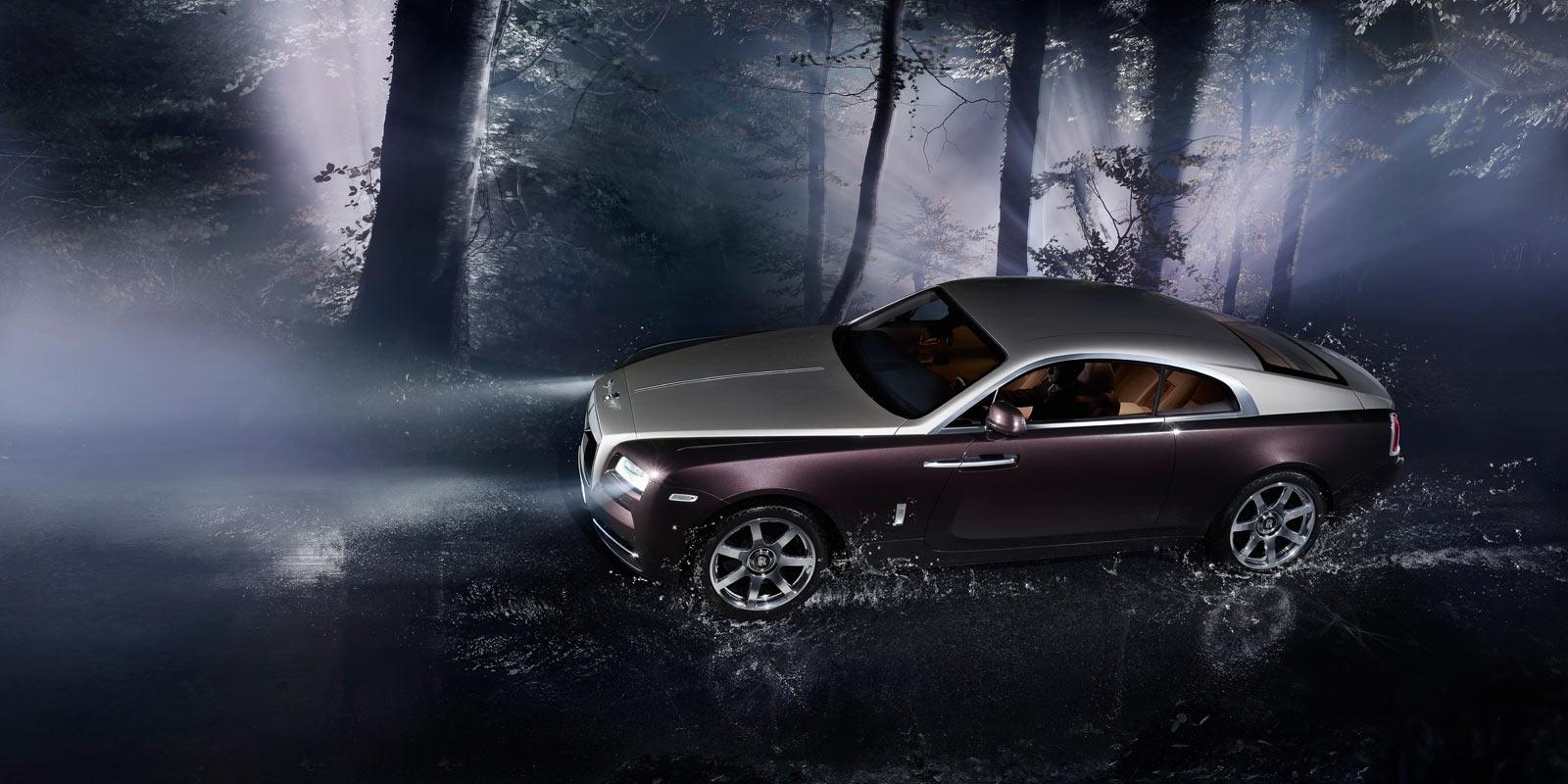 2015 Rolls-Royce Wraith Photography At Rain