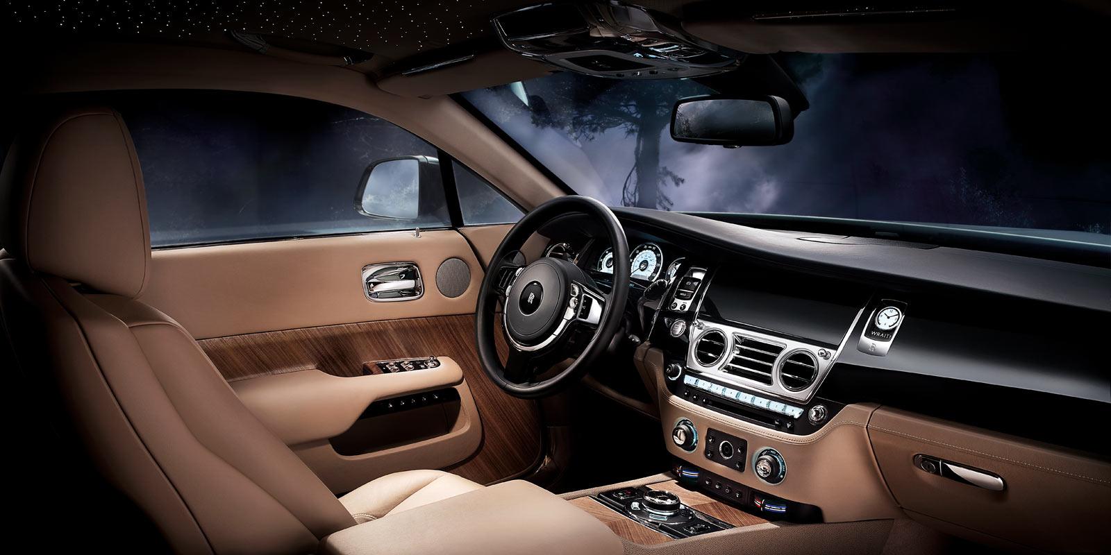 Rolls-Royce Wraith Interior Photo
