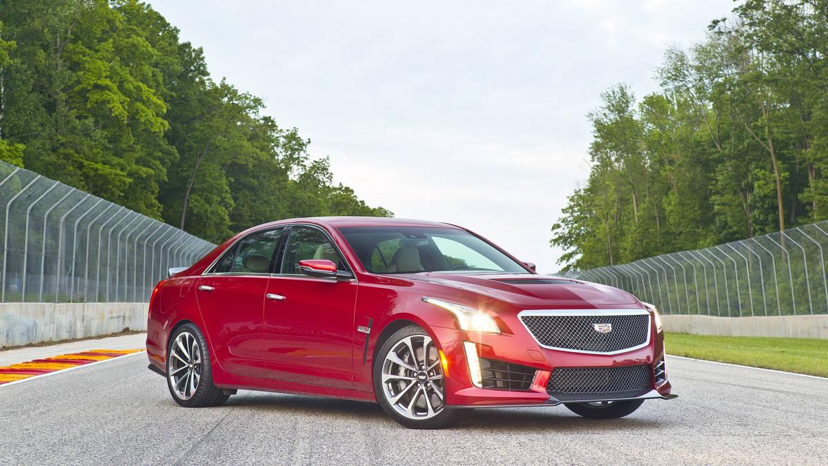 2016 Cadillac CTS-V Sedan Red