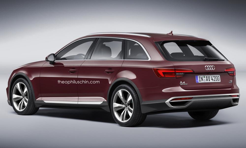 2016 Audi A4 Allroad Render Photo