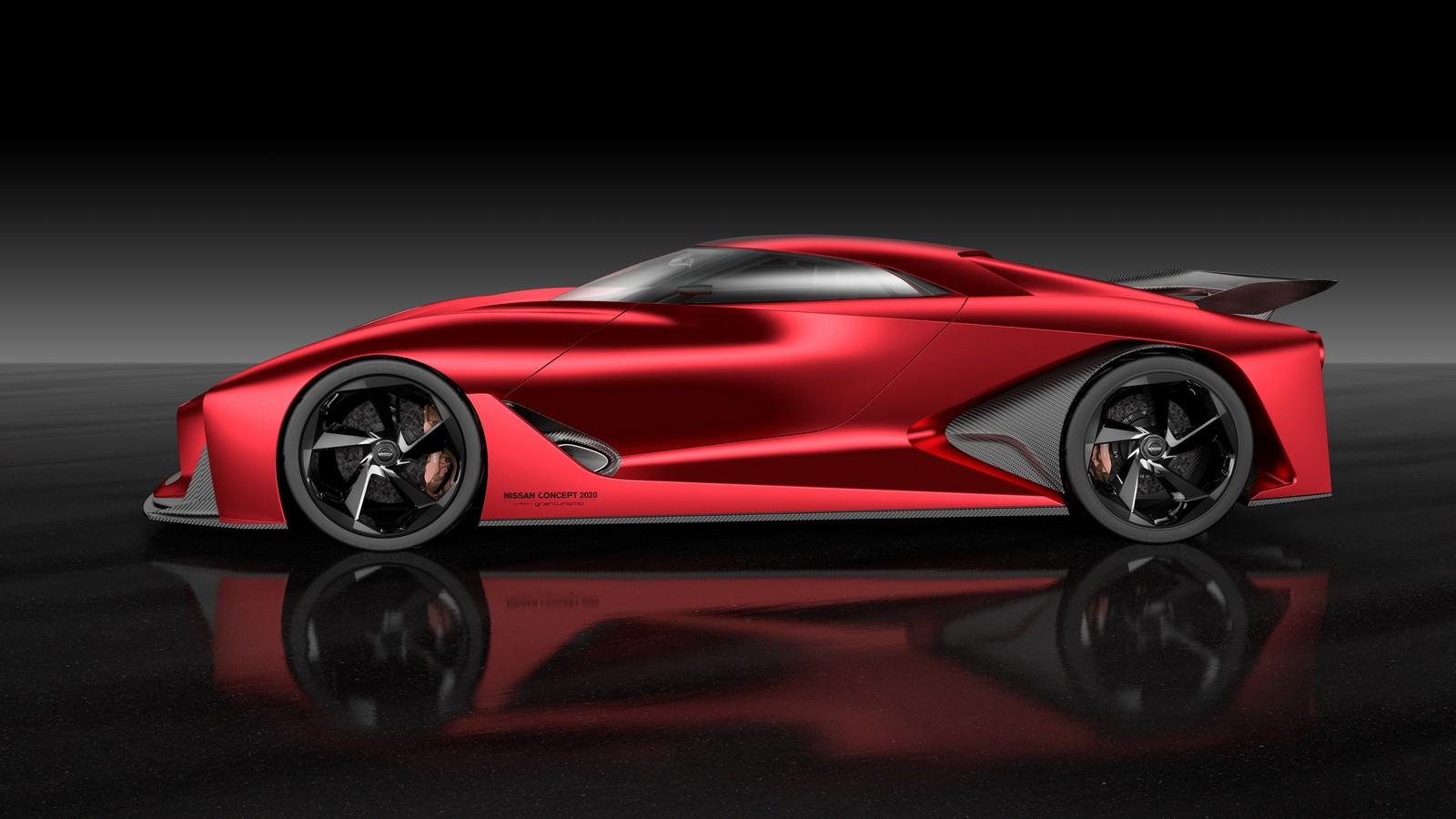2020 Nissan Vision Gran Turismo Concept Supercar Photo
