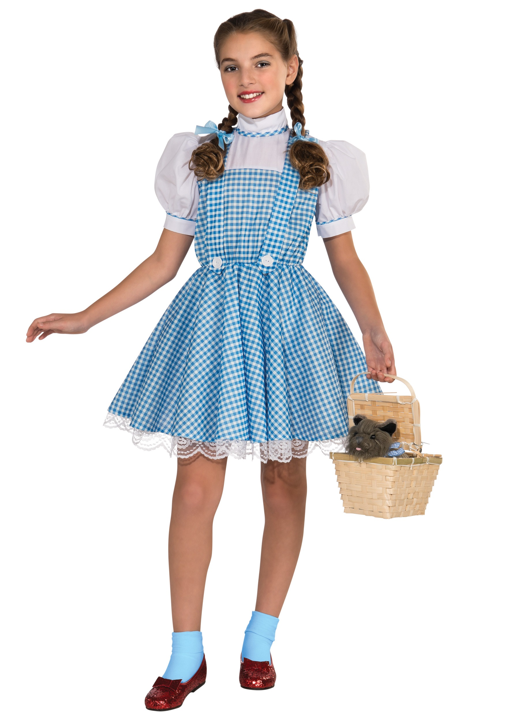Halloween Costumes For Kids Girls with Deluxe Dorothy Costume