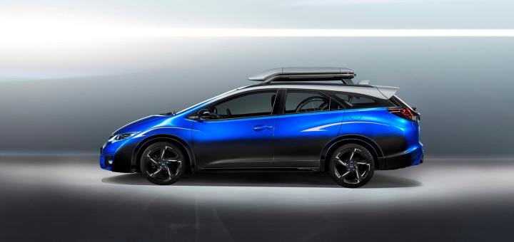 Honda Civic Tourer Active Life Concept Pictures