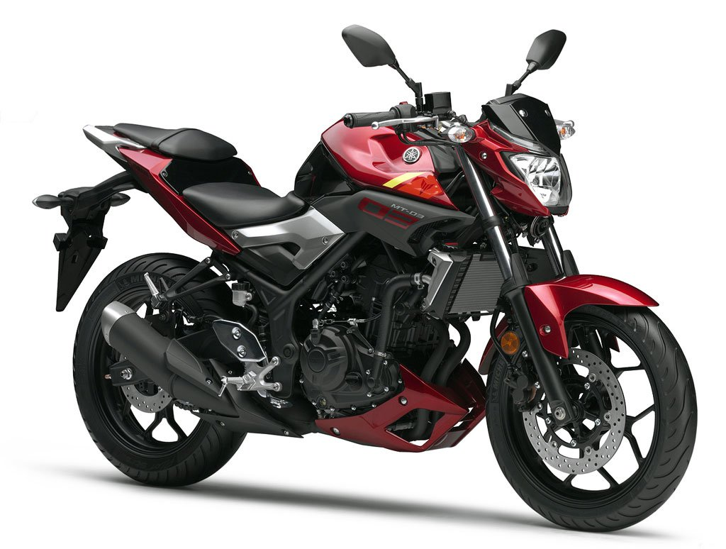 2016 Yamaha MT-03 Red Photo