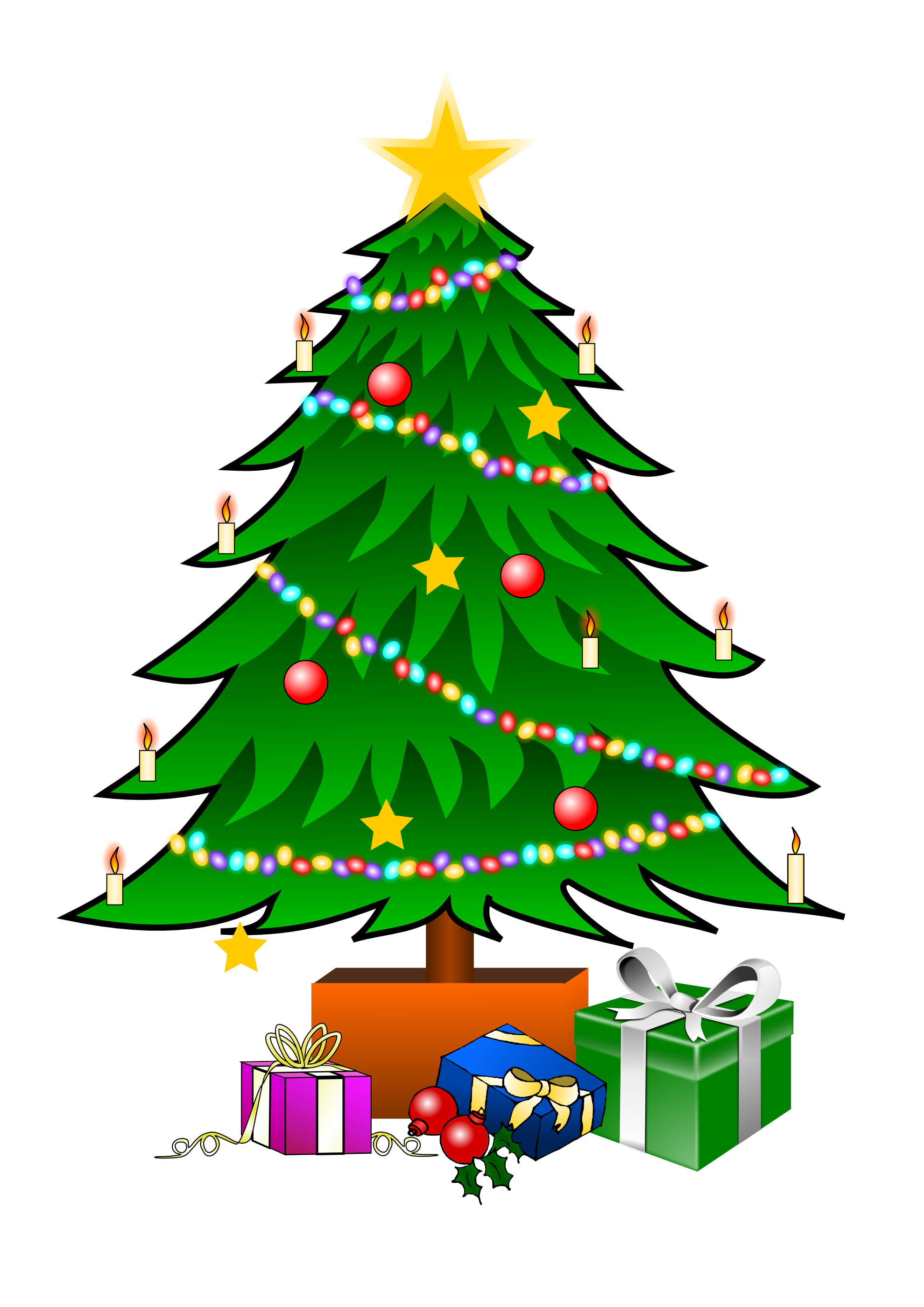 Christmas Tree Clip Art_04
