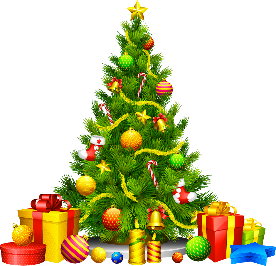 Christmas Tree Clip Art_09