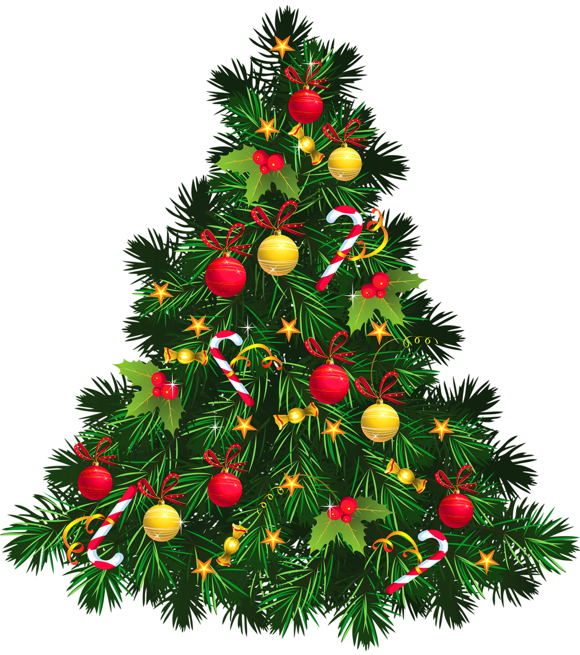 Christmas Tree Clip Art_16